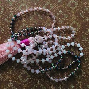 Necklace with tassel by Zacasha